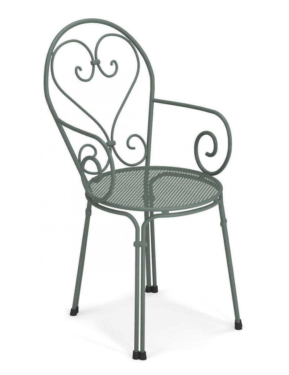 Кресло металлическое Pigalle