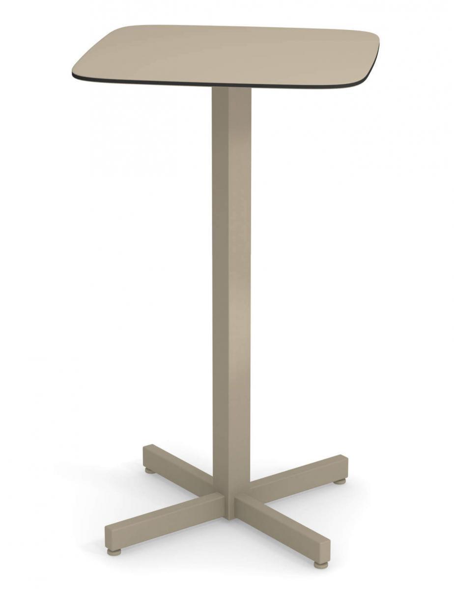 Стол из HPL-пластика барный Shine