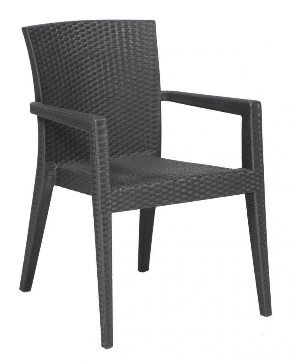 Кресло пластиковое Montana Rattan Armchair