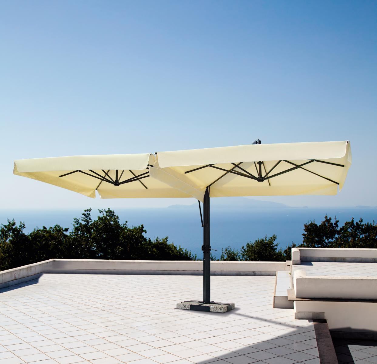 Зонт профессиональный двухкупольный Fellini Alluminium V