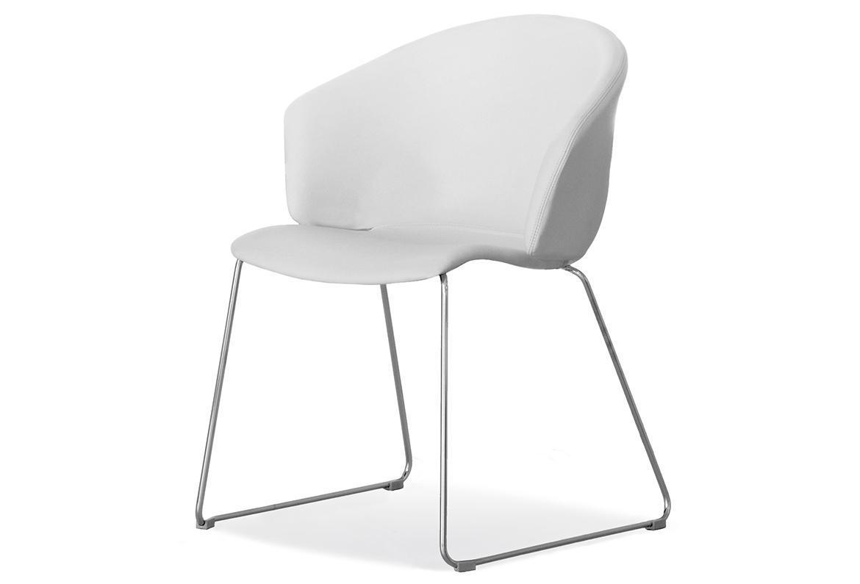 Кресло пластиковое на полозьях Grace