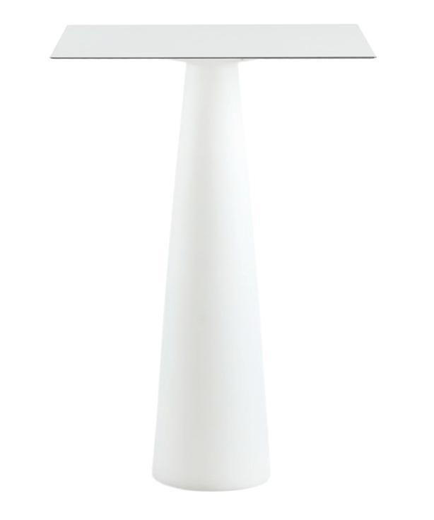 Стол из HPL пластика барный светящийся Hopla Lighting