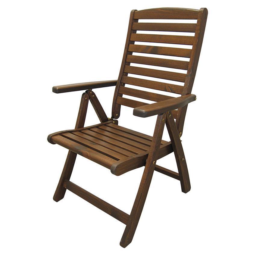 Кресло деревянное складное Solberga
