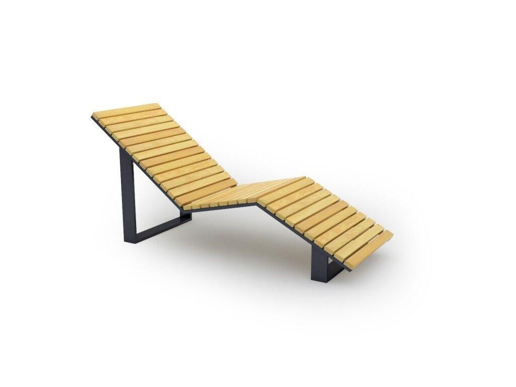 Лежак деревянный Фиджи