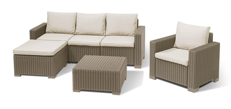 Комплект пластиковой мебели Moorea set unity
