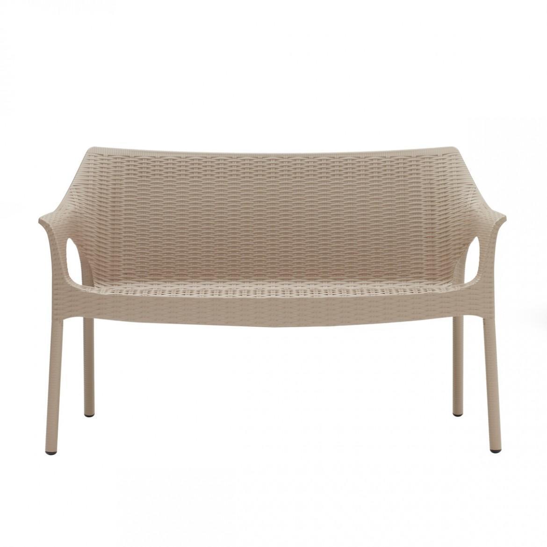 Диван пластиковый Olimpo Sofa