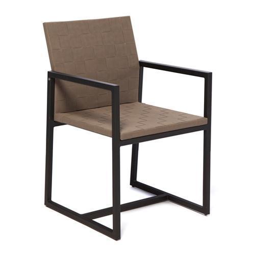 Кресло металлическое мягкое Otto