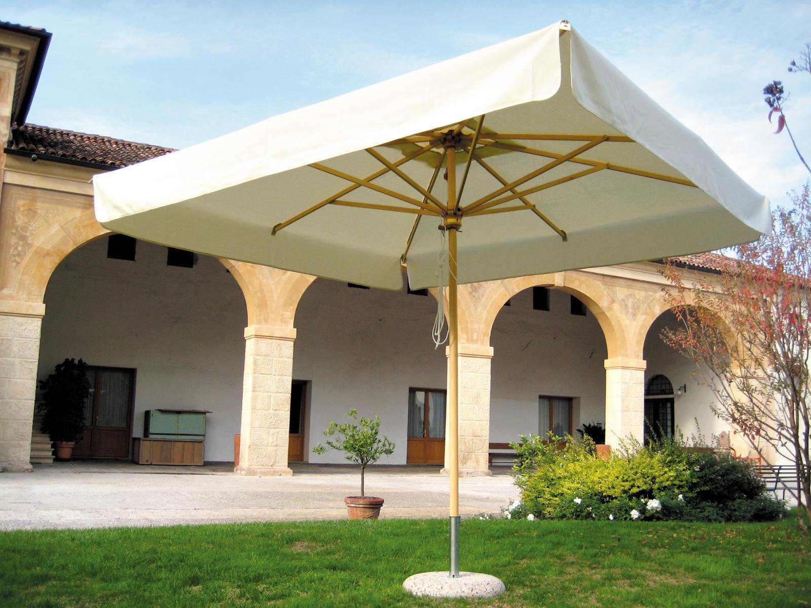 Зонт профессиональный Dolomiti Wood
