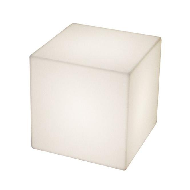 Светильник пластиковый Куб Cubo LED 25 Table Lamp