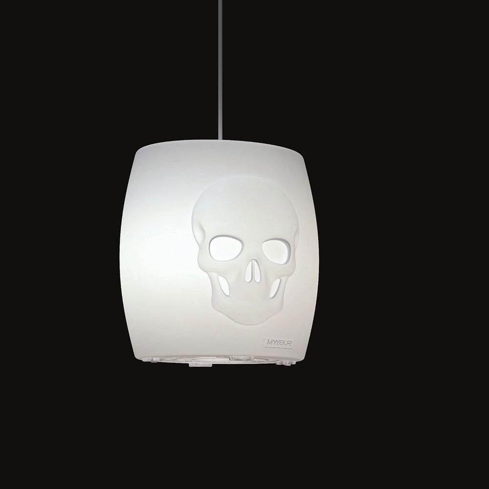 Светильник пластиковый потолочный Skull