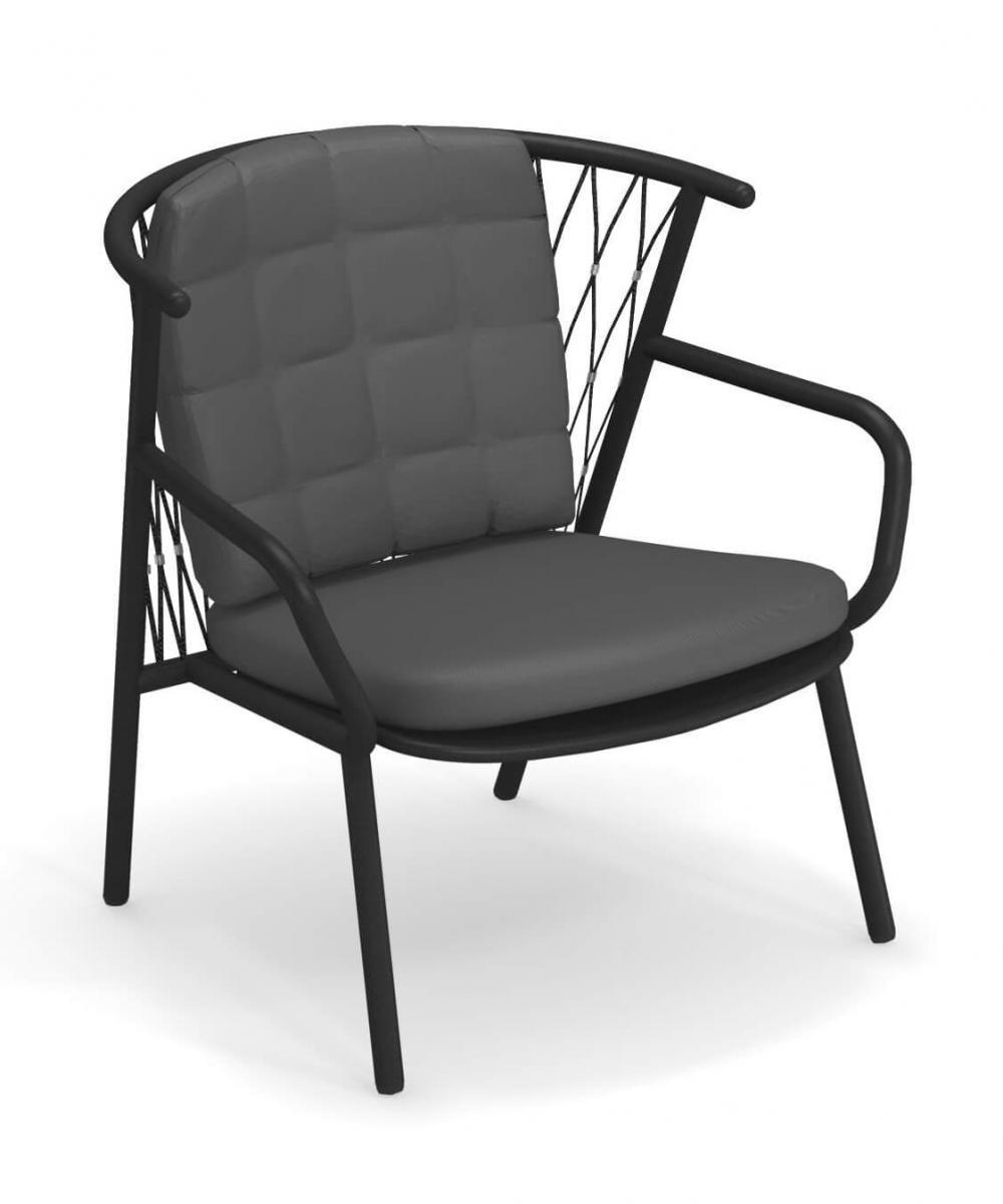 Кресло металлическое с подушками Nef