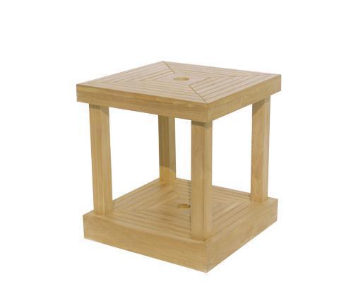 Стол деревянный-база для зонта Base