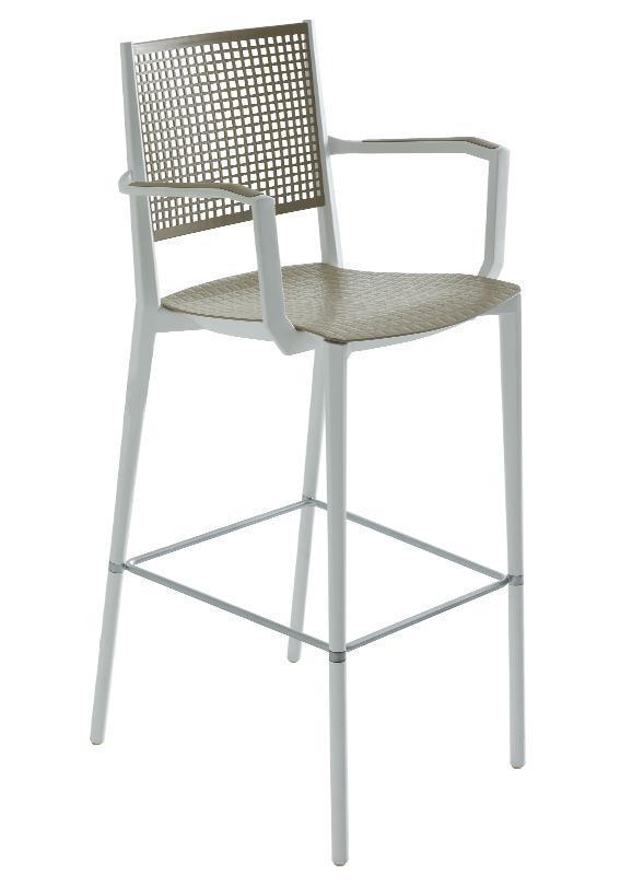 Кресло пластиковое барное Kalipa B