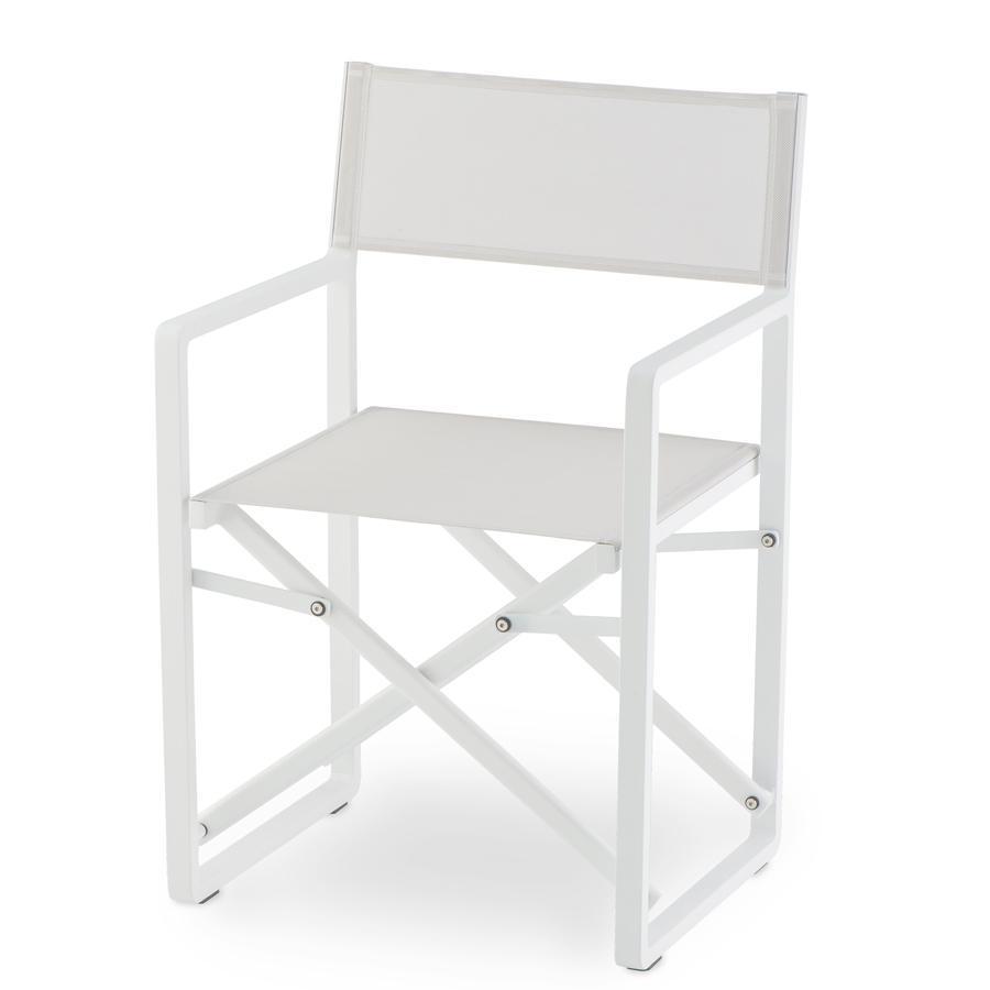 Кресло металлическое текстиленовое GS 945