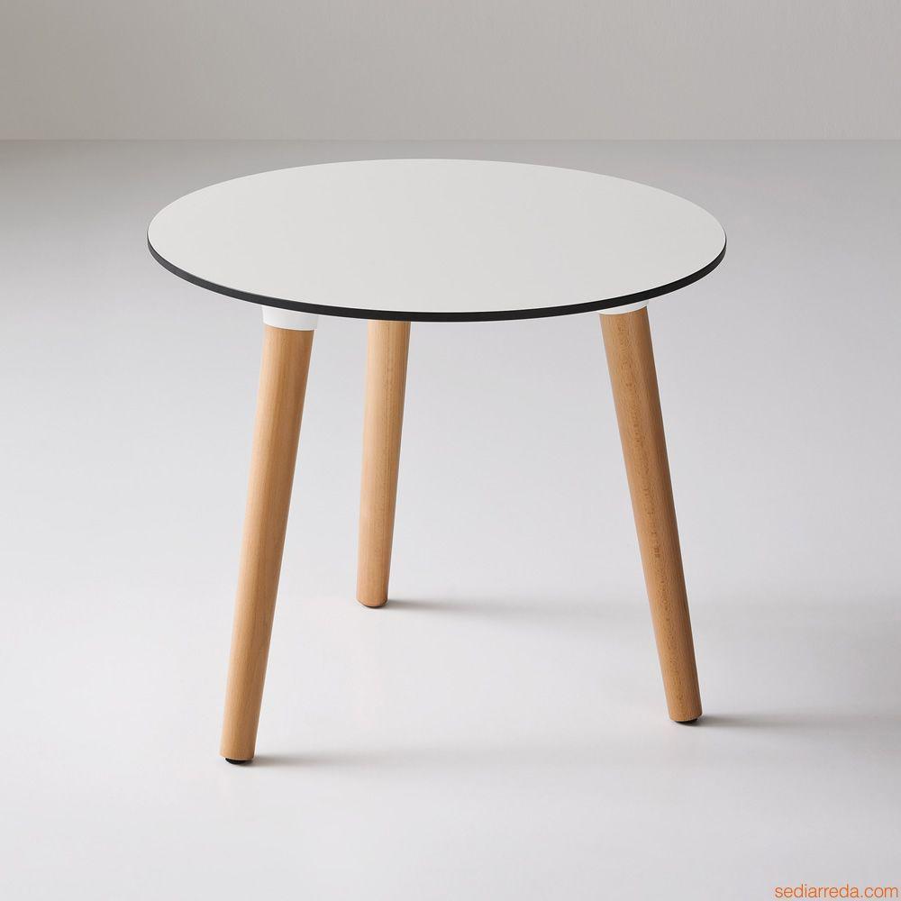 Стол ламинированный кофейный Stefano 3-POD