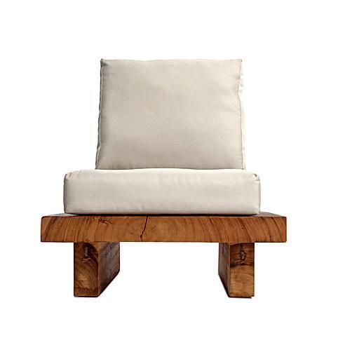 Кресло деревянное без подушки Suar