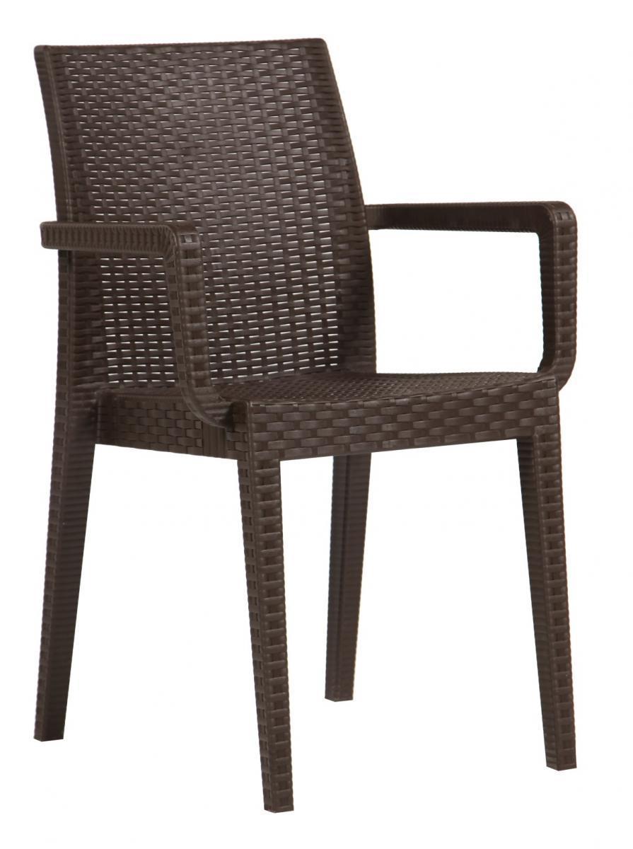 Кресло пластиковое Siena