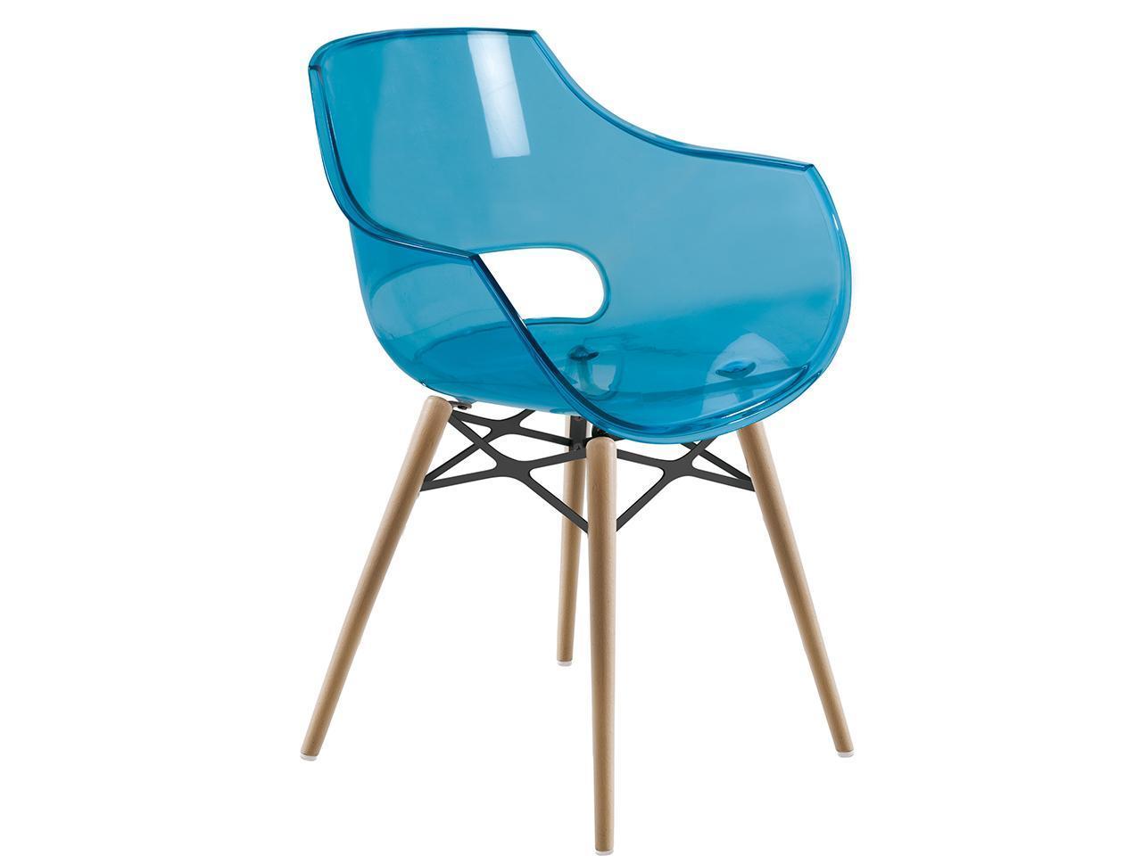Кресло прозрачное Opal Wox