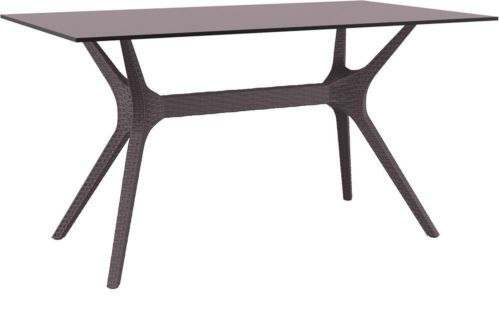 Стол пластиковый плетеный Ibiza Table 140