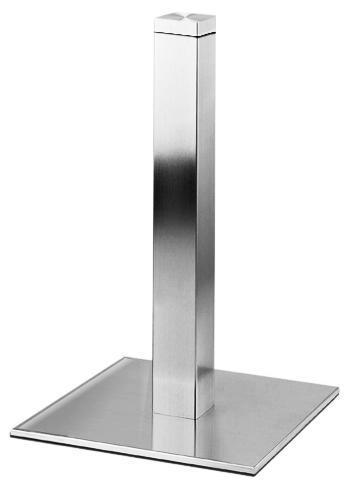 Подстолье металлическое для стеклянной столешницы