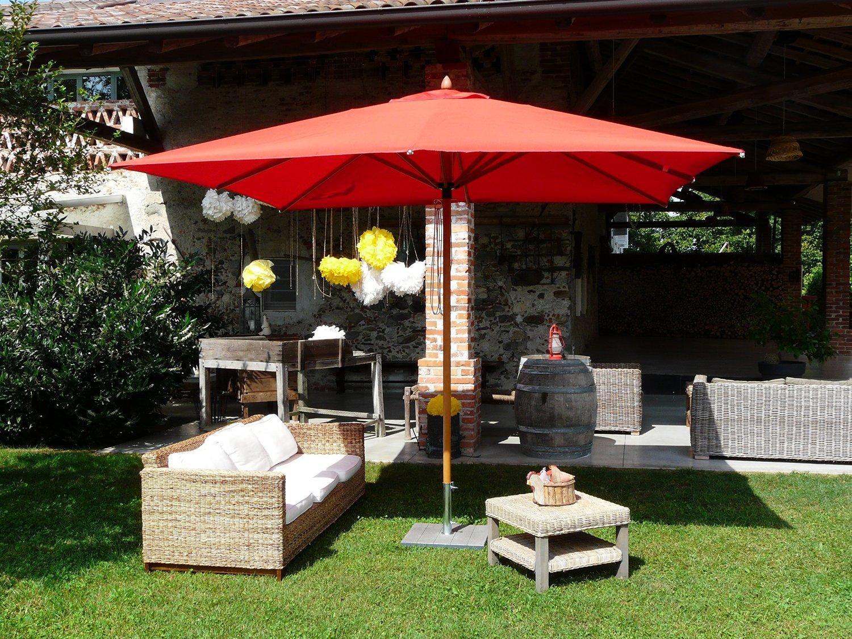 Зонт садовый Fibrasol Wood