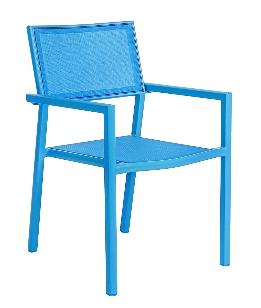 Кресло металлическое текстиленовое Kristin