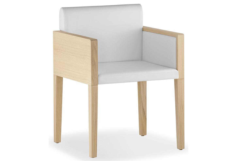 Кресло деревянное мягкое Box