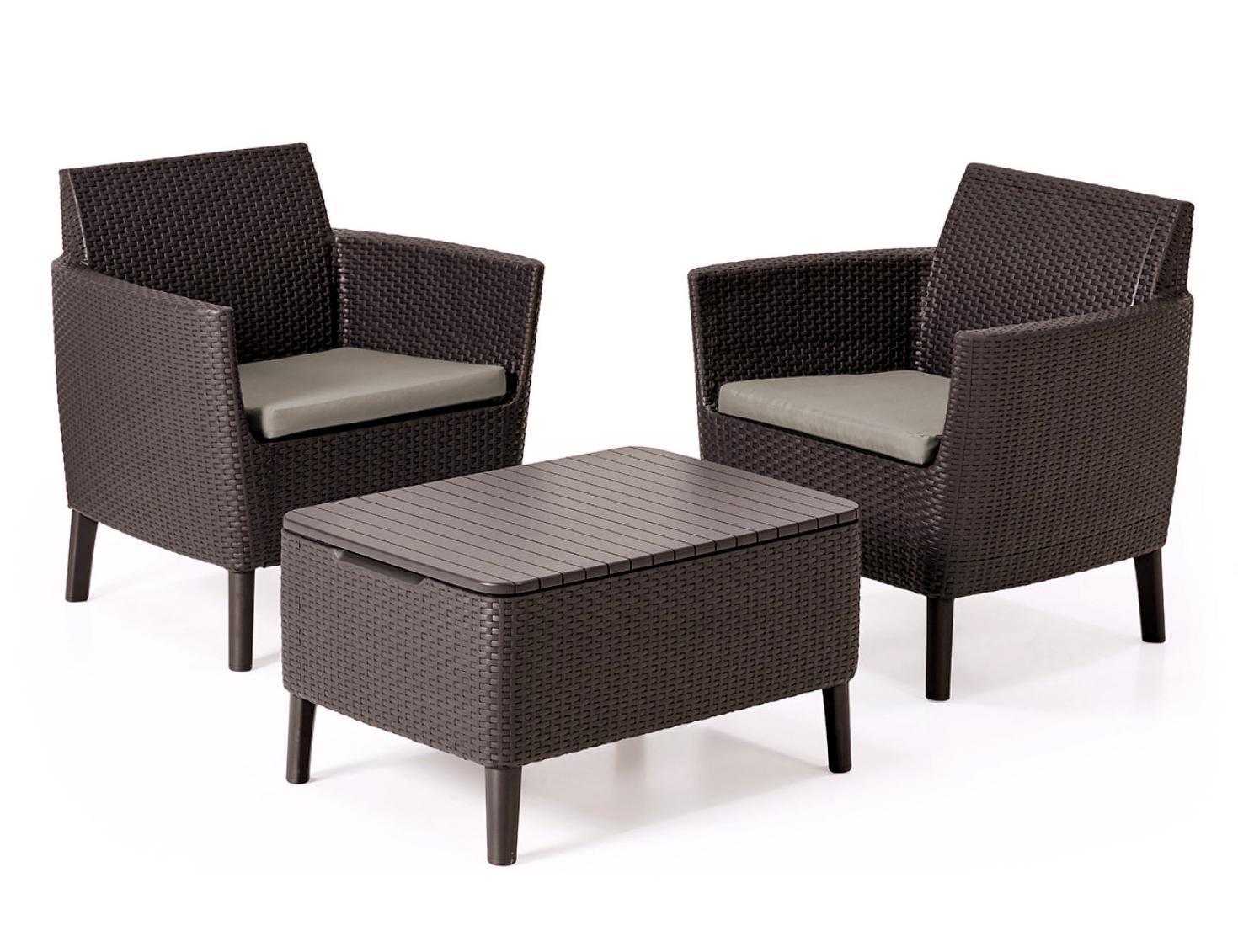 Комплект пластиковой мебели Salemo balcony set