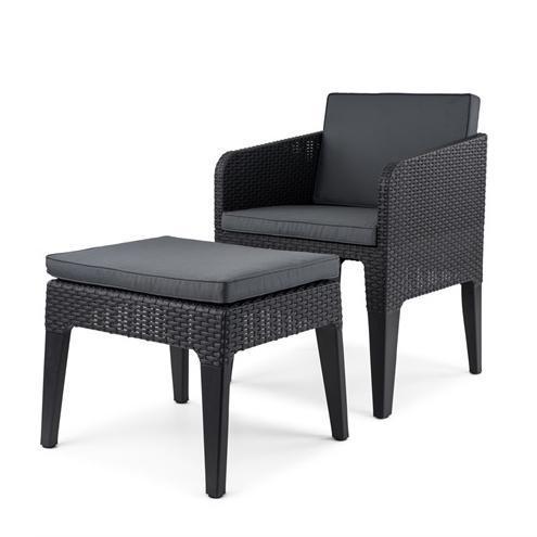 Комплект пластиковой мебели Columbia mini balcony set