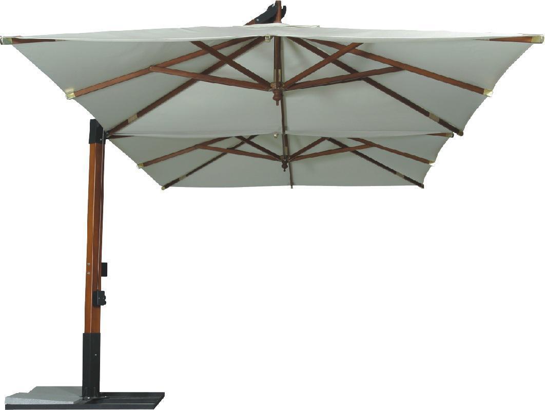 Зонт садовый двойной