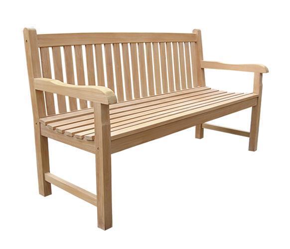 Скамейка деревянная трехместная Classica
