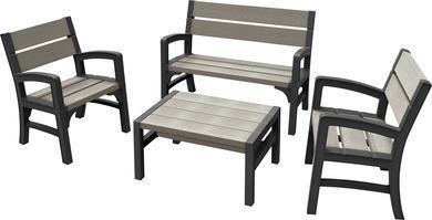 Комплект пластиковой мебели Montero (WLF) bench set