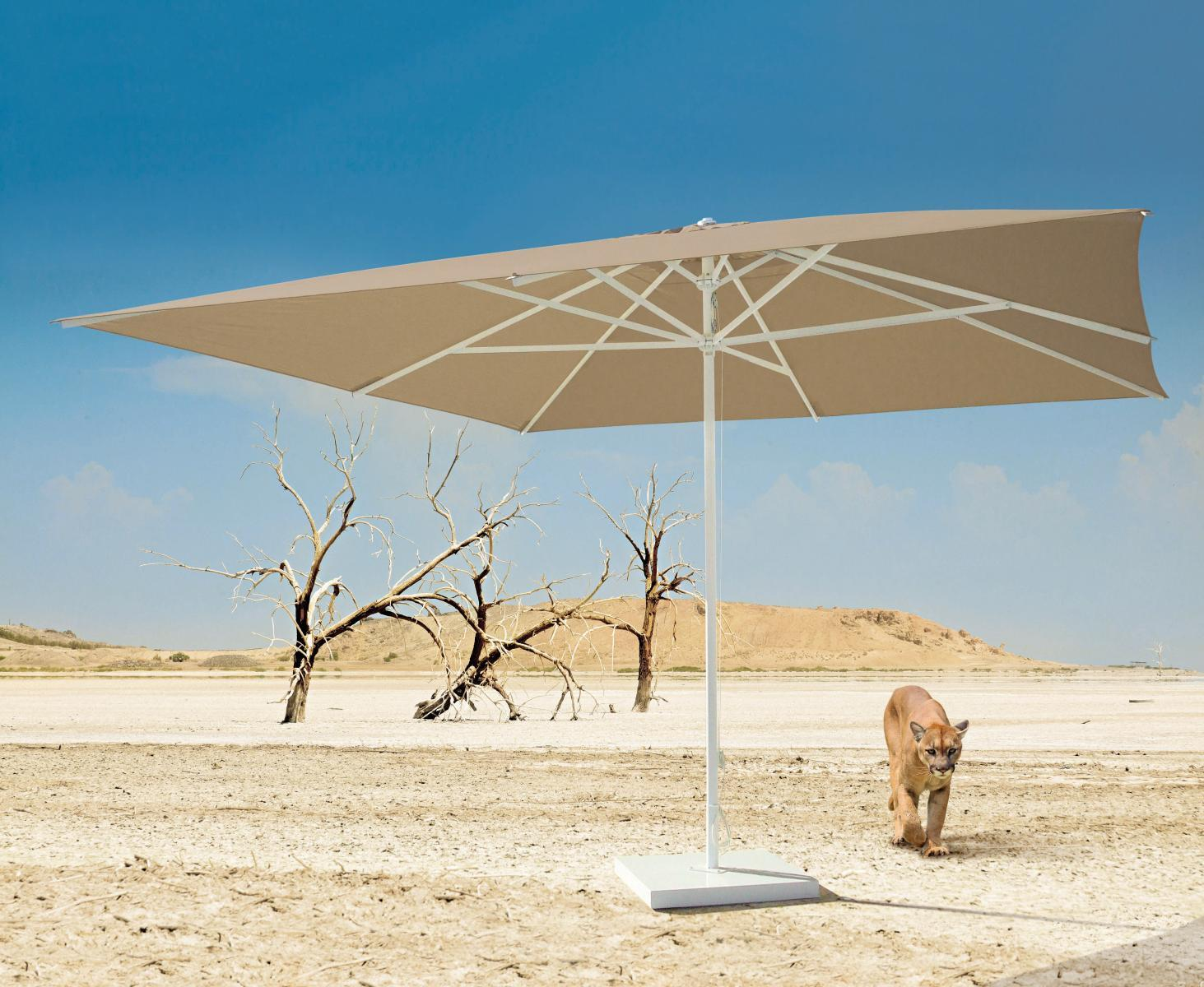 Зонт профессиональный телескопический Plaza