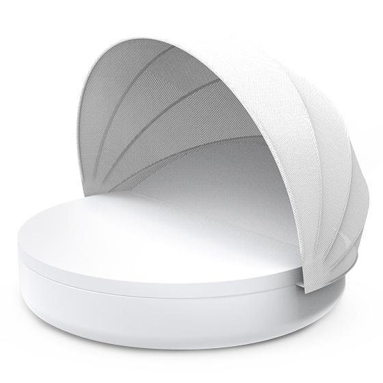 Лежак пластиковый с козырьком Ulm Reclining backrest with folding sunroof Basic