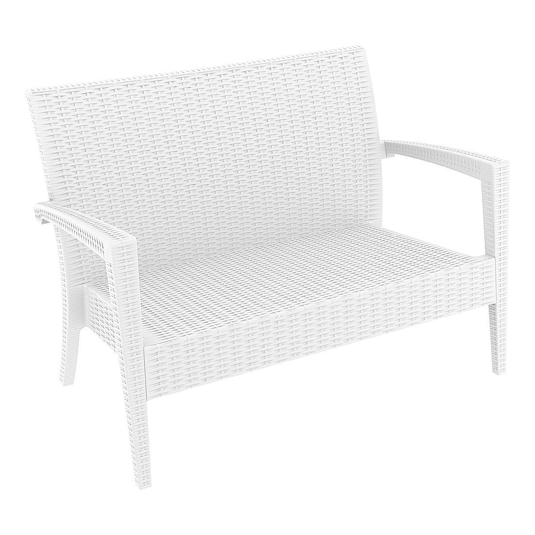 Диван пластиковый плетеный Miami Lounge Sofa