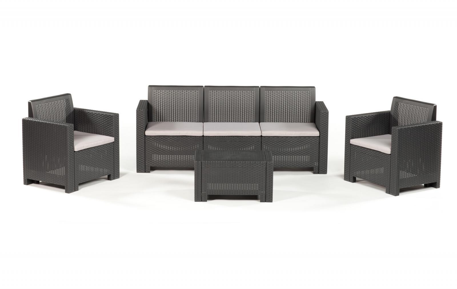 Комплект пластиковой мебели Alabama 3