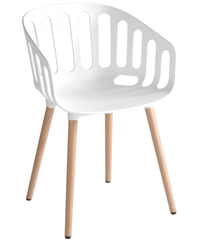 Кресло пластиковое Basket Chair BL