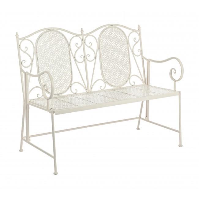 Скамейка алюминиевая двухместная Giselle
