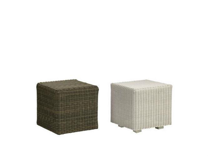Пуф плетеный Cube