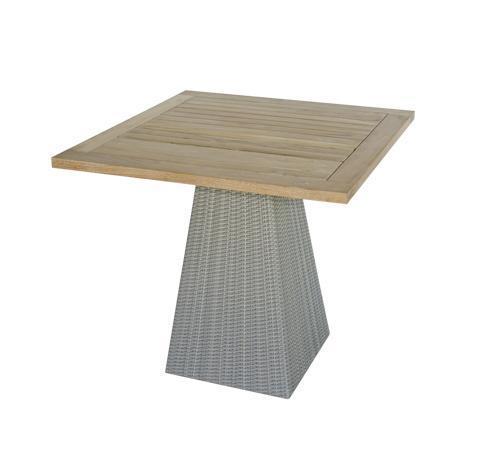 Стол деревянный плетеный Gipsy