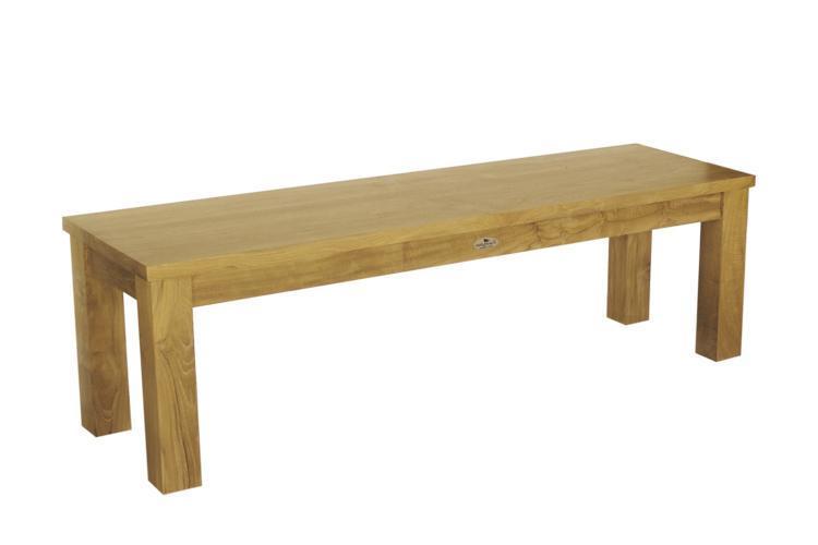 Скамейка деревянная трехместная Ratio
