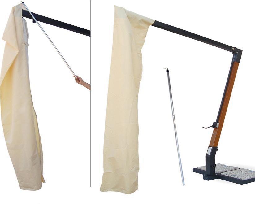 Чехол для хранения уличных зонтов Braccio 4040