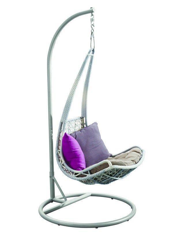 Кресло плетеное подвесное Leaf