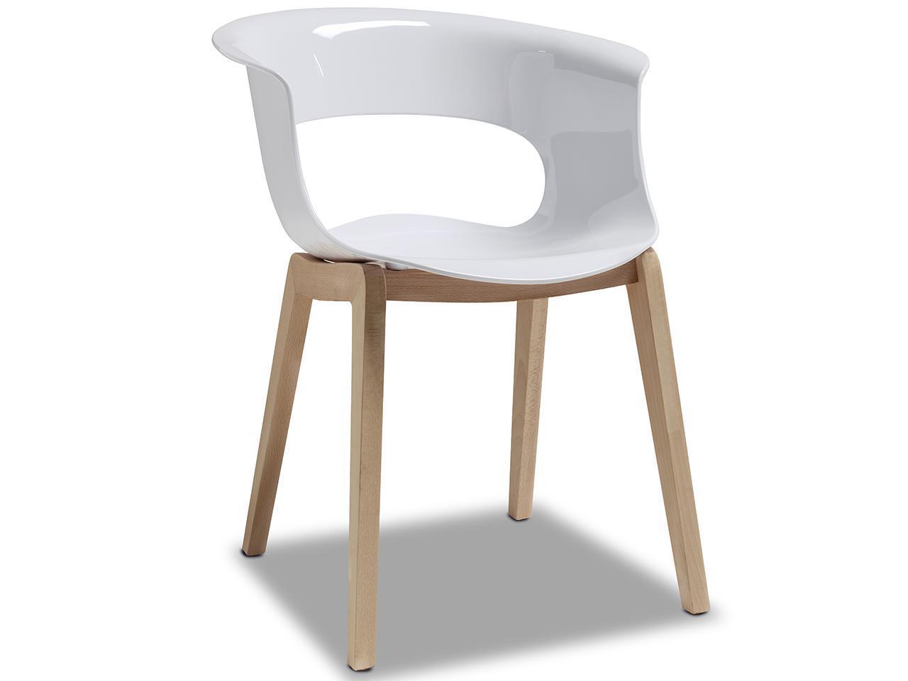 Кресло пластиковое Natural Miss B Antishock
