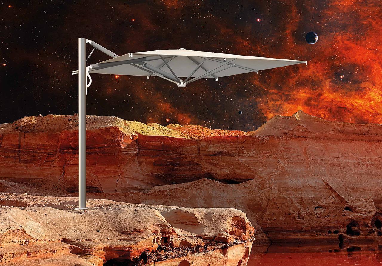 Зонт профессиональный Astro Spacegray