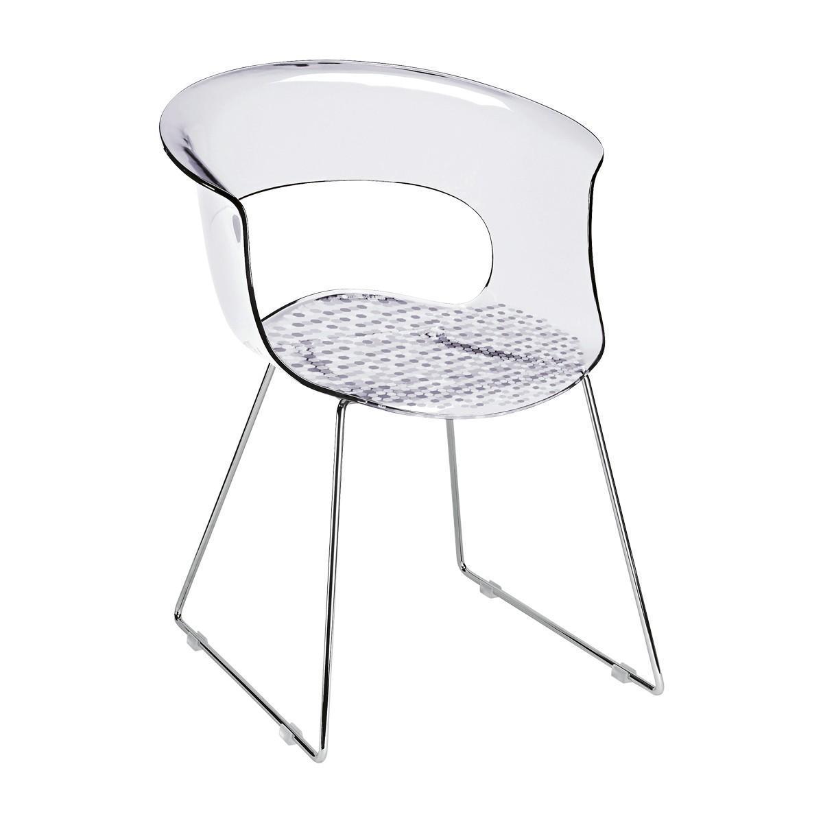 Кресло прозрачное Miss B Antishock