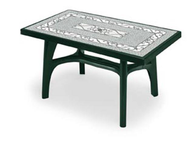 Стол пластиковый обеденный Forged Iron Decoration