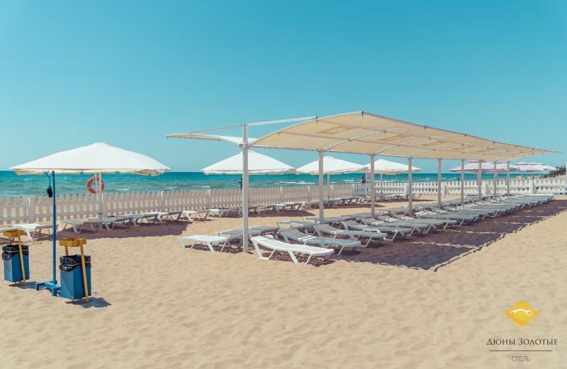 Пляжный теневой навес Ласточка (сборно-разборный). Самая красивая модель на Черном море.