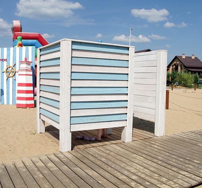 Кабинка пляжная одинарная Дюна юга