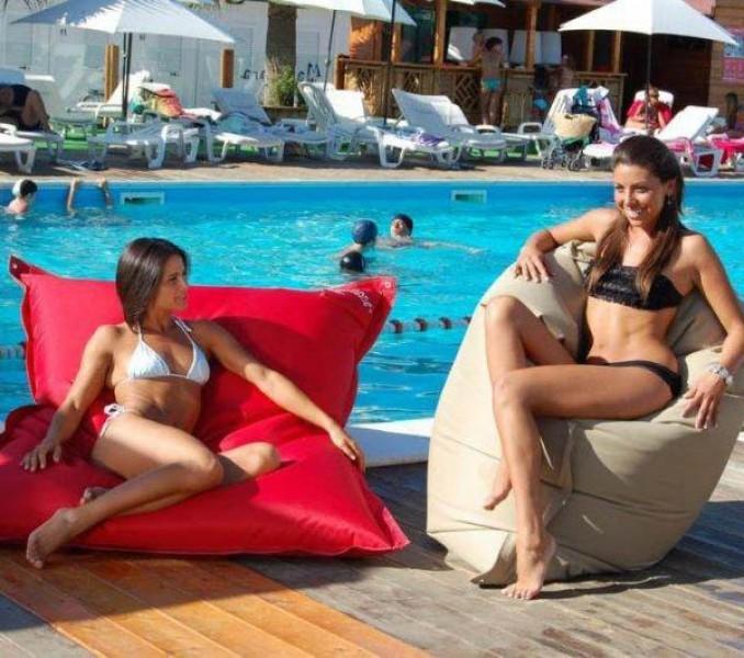 Бескаркасная мебель для пляжа и зоны отдыха. Под заказ оптом и мелким оптом.
